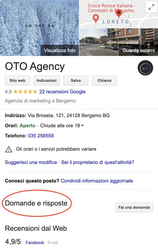 Chiedi e ti sarà detto: le Q&A di Google Maps